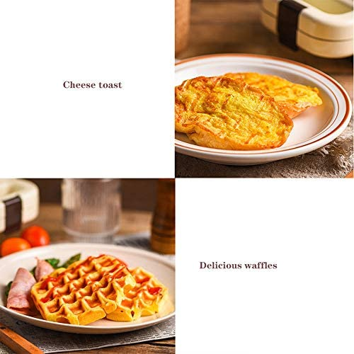 Ijzer tosti-ijzer, multifunctionele bubble egg cake oven ontbijt wafel elektrische wafels machine huishoudelijke luie artefact