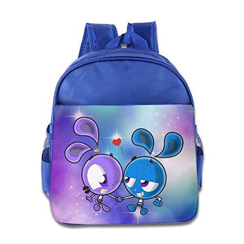 Toddler Kids Yin Yang Yo School Backpack Cartoon Children School Bag RoyalBlue
