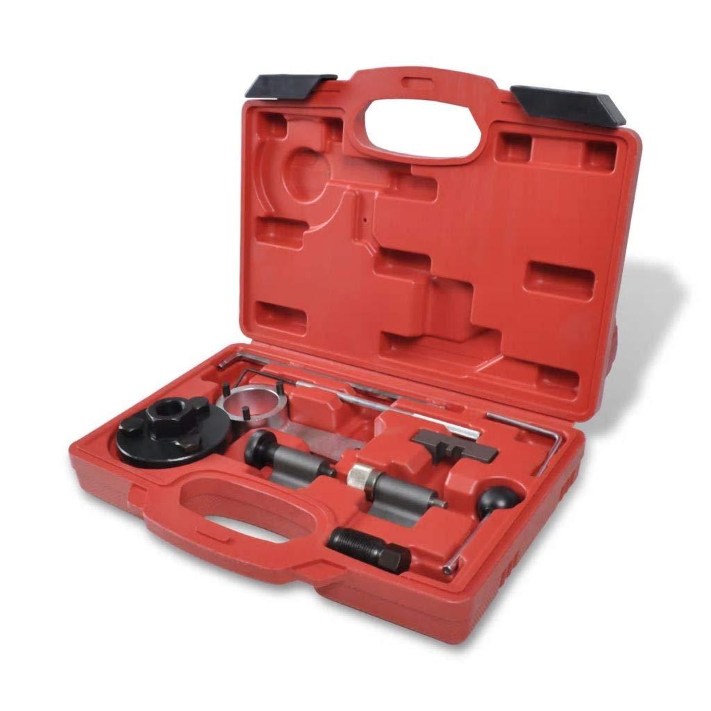 Vislone Set de Herramienta de Sincronización con 10 Piezas para VAG 1.6 y 2.0 TDI 33 x 31 x 23,5 cm Rojo: Amazon.es: Hogar
