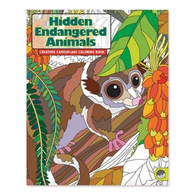 MindWare Hidden Endangered Animals Coloring Book
