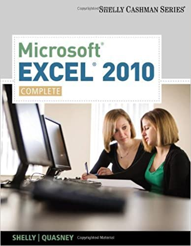 Microsoft Excel 2010 Comprehensive Pdf