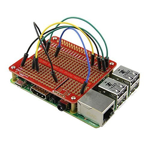 Gowoops Prototype HAT Shield for Raspberry Pi 2 3 Model B