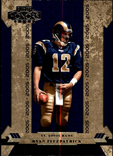 2005 Playoff Honors #149 Ryan Fitzpatrick RC Rookie Card /699