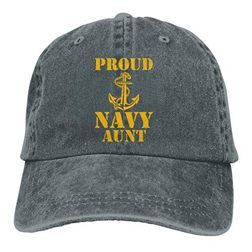 Proud Navy Aunt Adult Dad Hat Baseball Hat Vintage Washed Distressed Cap