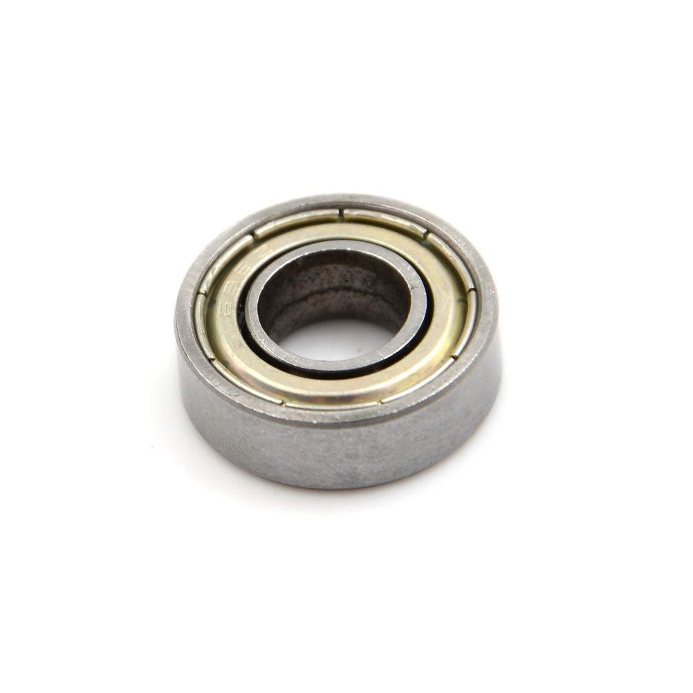 Ochoos 10pcs//lot F698-2RS Carbon Steel Bearings 8x19x6 mm Miniature 698RS Ball Bearings 698 Z ZZ Bearings