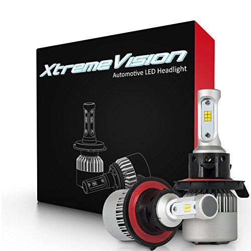 H4//9003 Dual Beam LED Headlight Conversion Kit... XtremeVision 8G 72W 12,000LM