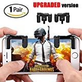 Cheap Batuzon PUBG Mobile Game controller, [UPGRADED version] Sensitive Shoot and Aim L1R1 Trigger Buttons for PUBG/Rules of Survival/Critical Ops,Mobile Game Joystick for Android IOS(1Pair