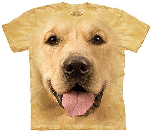 The Mountain Big Face Golden T-Shirt