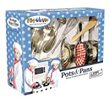 Kangaroo's Kitchen Pots N Pan Set, 12 Piece Play Set