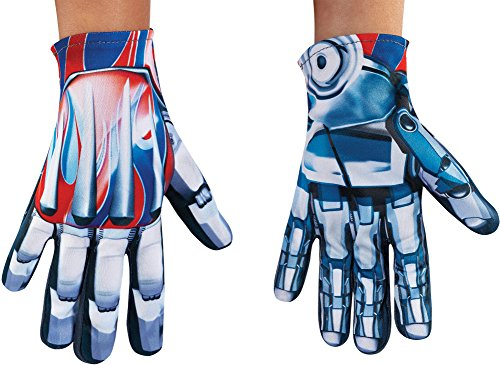 Disguise Optimus Prime Movie Child Gloves, One Size -