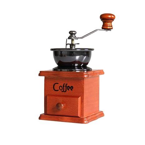 XQY Amoladora/Amoladora de Café de la Mano de Madera Sólida/Máquina de Café