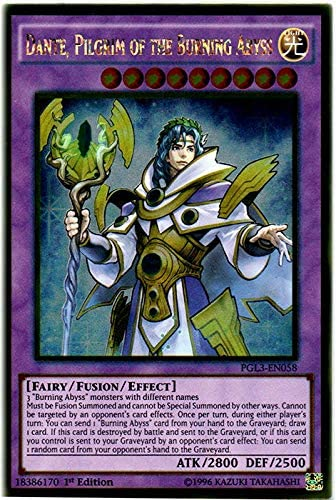 NEW Dante Traveler of the Burning Abyss LEHD-ENC39 1st Edition YuGiOh