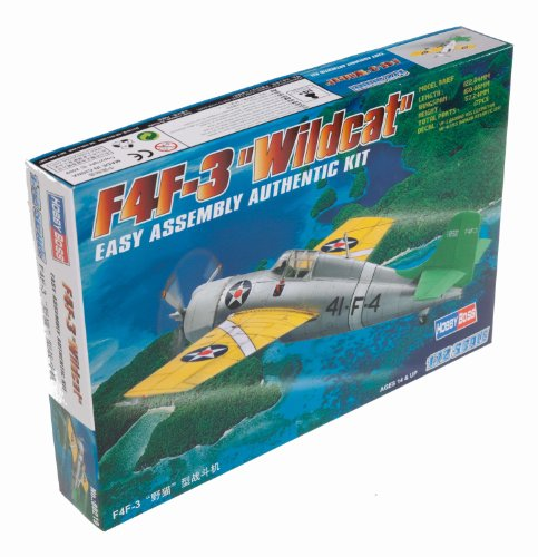 dcat Airplane Model Building Kit (Grumman F4f 3 Wildcat)
