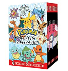 Discover the original adventures of Ash and his loyal Pikachu in this classic chapter book collection! These characters can be found in Pokemon GO and the classic animated series on Netflix.This boxed set includes paperback reissue edi...