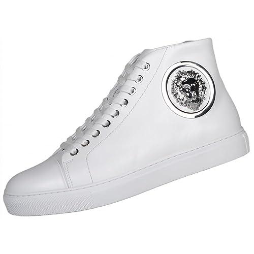 promo code 10bfd 89c6c Versus Versace, Sneaker Uomo Bianco White, Bianco: Amazon.it ...