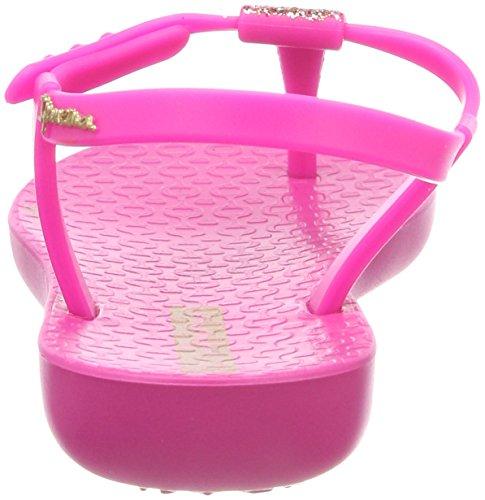 Ipanema Mädchen Charm Sand II Kids T-Spangen Sandalen Mehrfarbig (Pink/Pink)