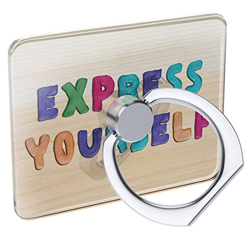 er Express Yourself Colorful Kids Clay Collapsible Grip & Stand Neonblond (Express Yourself Peel)