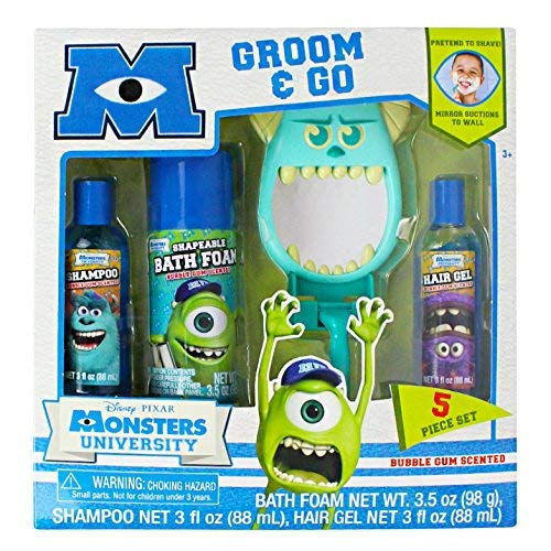 (Monster's University Bubble Gum Scented Groom & Go Gift Set)