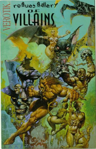 Verotik Rogue Gallery of Villains #1 Pin-up Comic