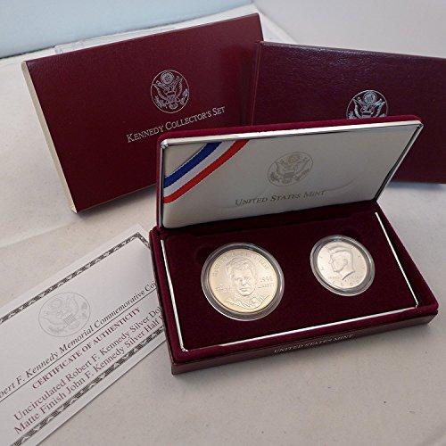 1998 S Commemorative Silver Kennedy Collector