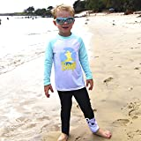 BAY-B Long Sleeve Rashguard Set UPF50+ Surfing Bear M