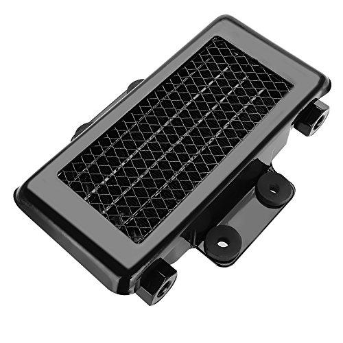 Acouto Aluminum 65ml Engine Oil Cooler Cooling Radiator for 100CC-250CC Motorcycle Dirt Bike ATV(Black)