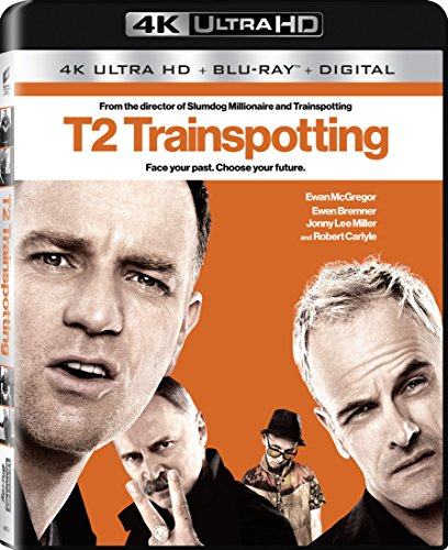 4K Blu-ray : T2 Trainspotting (With Blu-Ray, Ultraviolet Digital Copy, 4K Mastering, 2 Pack, Widescreen)