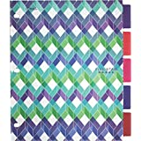 Five Star Style Poly Dividers, 11 X 9-1/8-Inch, Assorted Designs, 5 Pack (20995)