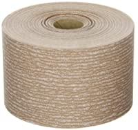 Norton A275 No-Fil Adalox Abrasive Roll, Paper Backing, Pressure Sensitive Adhesive, Aluminum Oxide, Waterproof, Roll 2-3/4 Width x 45yd Length, Grit 320 (Pack of 1)