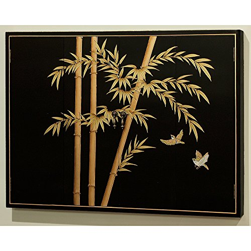 Hand Painted Bamboo Design - 5
