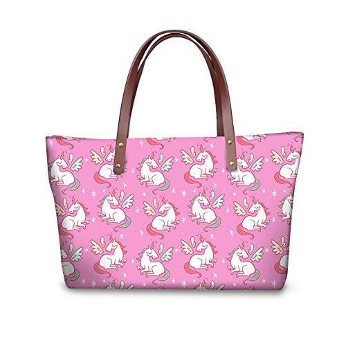 Bages Women Dfgcc2266al Tote Stylish FancyPrint Handbags Casual SB8fEx