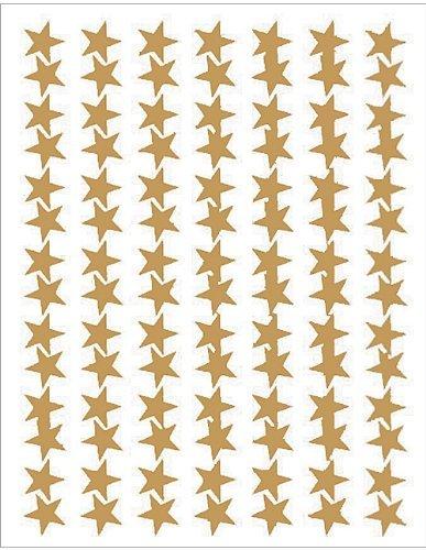Teacher Created Resources 1276 Gold Stars Foil Stickers By Teacher Creative Resource