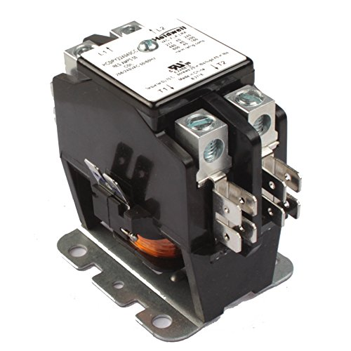 (Holdwell 45GG20AG 2 Pole 40 Amp 240V Coil Definite Purpose Contactor)