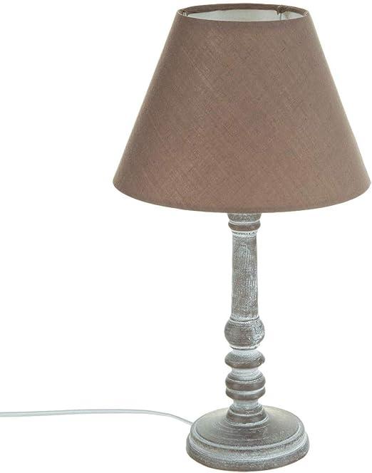 Atmosphere 86-CRLF-QA61 - Lámpara de mesa estilo romántico , 20 x ...
