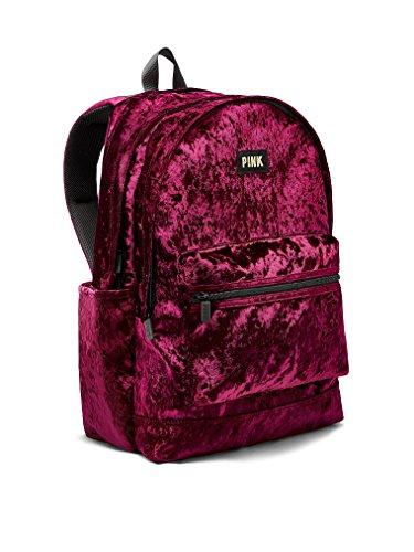 Victoria's Secret Pink Campus Backpack Ruby (Velvet Bottle)