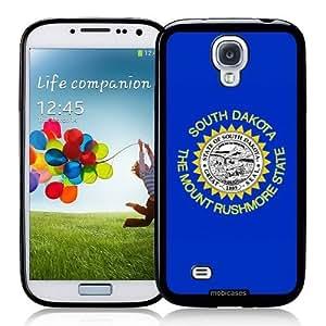 Cool Painting Flag of South Dakota - Protective Designer BLACK Case - Fits Samsung Galaxy S4 i9500