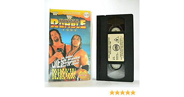 WWF Royal Rumble: Pain! Just a 4 Letter Word Reino Unido VHS ...