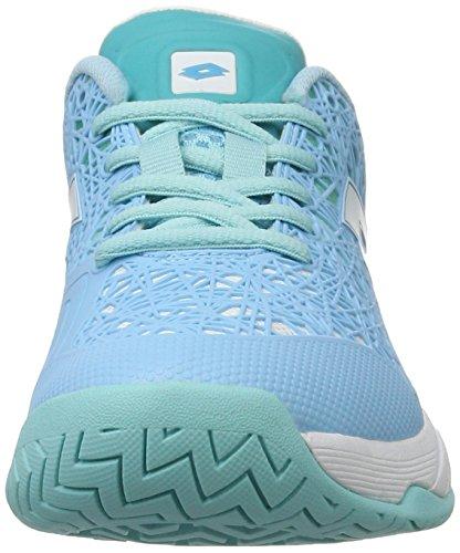 Lotto Sport Viper Ultra III Spd W, Zapatillas de Tennis para Mujer Azul (BLU Mex/Wht)