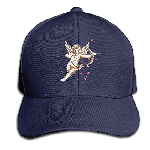 Unisex Peaked Cap Angel Cupid Funny Art Washed Adjustable Sports Baseball Cap