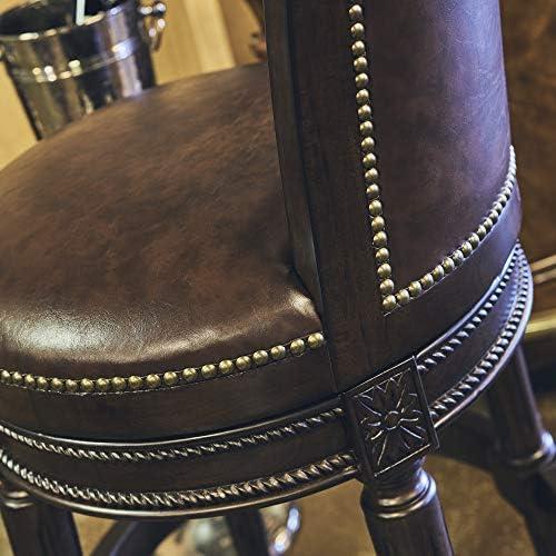 New Ridge Home Goods NewRidge Home Chapman Bar Height Swivel Barstool