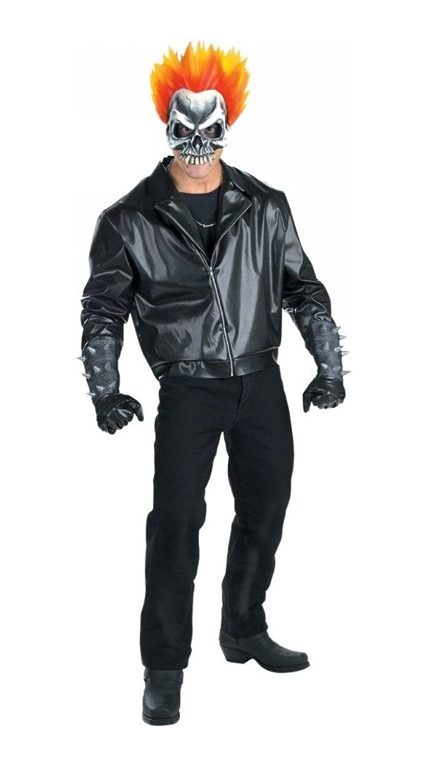 Amazon.com: Ghost Rider Teen Costume Costume - Medium - Chest Size ...