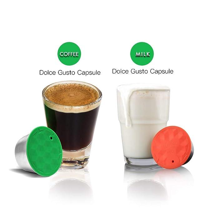 Amazon.com: i Cafilas - Juego de cápsulas de café y leche ...