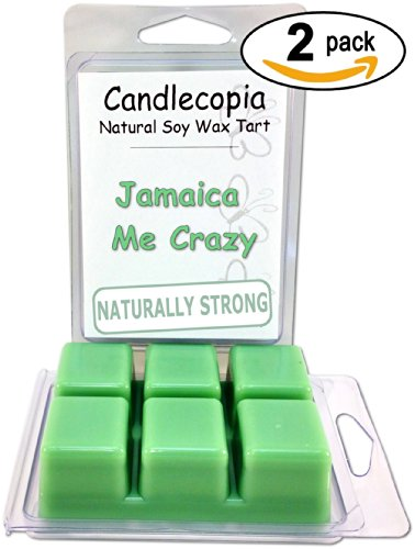 Candlecopia Jamaica Me Crazy Strongly Scented Hand Poured Pr