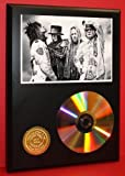 #5: Motley Crue 24Kt Gold CD Disc Display - Musician Art - Award Quality - Limited Edition