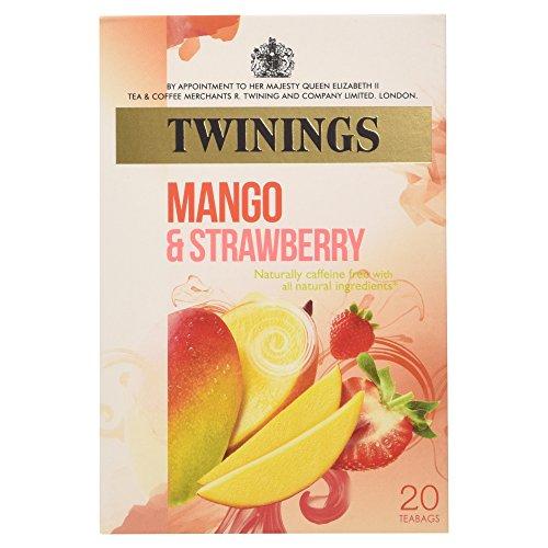 Twinings Mango & Strawberry Tea 20 per pack