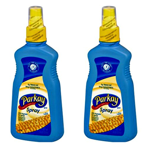 Parkay Vegetable Oil Spray Bottle - 8 Ounce - Pack of 2 -
