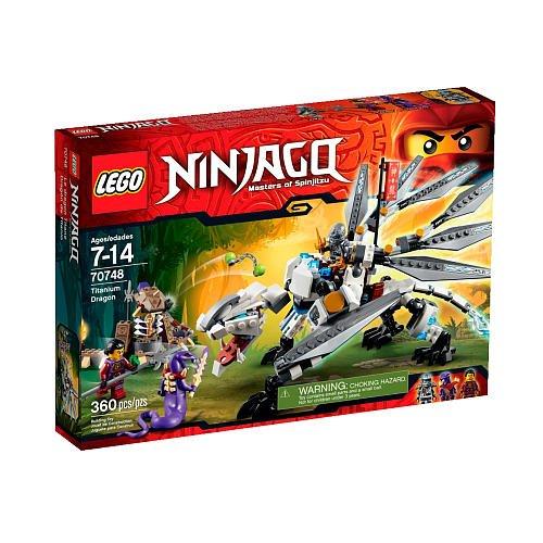 LEGO Ninjago Titanium Dragon (70748)