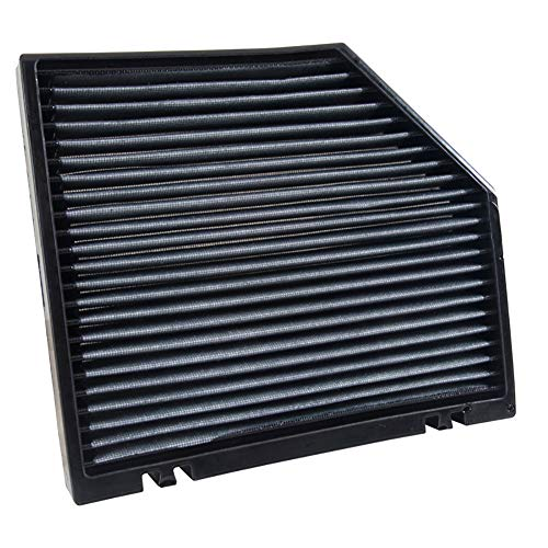 K&N VF3012 Washable & Reusable Cabin Air Filter Cleans and Freshens Incoming Air for your Dodge, Jeep ()