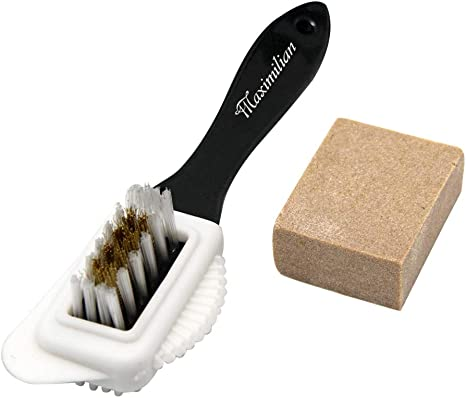 Brush /& Eraser Suede Leather  Shoe Care Footwear Dry Cleaning Kit For Nubuck