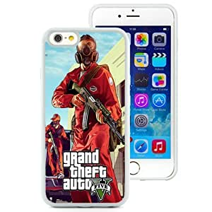 Fashionable and DIY Phone Case Design with GTA 5 Pest Control iPhone 6 4.7inch TPU case Wallpaper in White